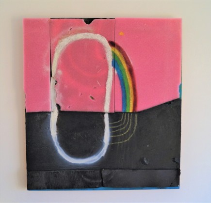 happy loop 73x66 cm